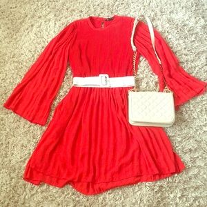 Red Dress from the Zara Collection